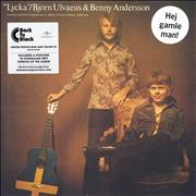 Click here for more info about 'Bjorn & Benny - Lycka - Blue & Yellow Vinyl + Sealed'