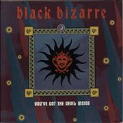 Click here for more info about 'Black Bizarre - You've Got The Devil Inside - P/S'
