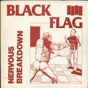 Click here for more info about 'Black Flag - Nervous Breakdown - 5th'