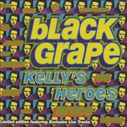 Click here for more info about 'Black Grape - Kelly's Heroes - Live'