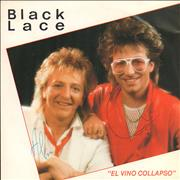 Click here for more info about 'Black Lace (UK) - El Vino Collapso - Autographed Test Pressing'