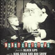 Click here for more info about 'Black Lips - Merry Christmas - Green Vinyl'