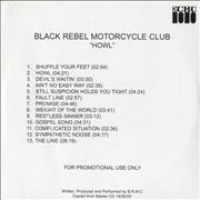 Click here for more info about 'Black Rebel Motorcycle Club - Howl'