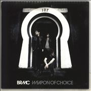 Click here for more info about 'Black Rebel Motorcycle Club - Weapon Of Choice'