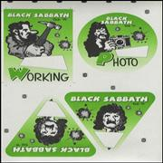 Click here for more info about 'Black Sabbath - 1999 Tour Passes - Uncut Sheets'