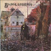 Black Sabbath Black Sabbath - 1976 Issue UK vinyl LP