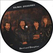 "Black Sabbath Devil And Daughter UK 7"" picture disc"