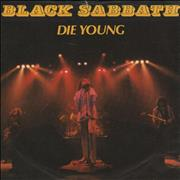 "Black Sabbath Die Young + Sleeve UK 7"" vinyl"