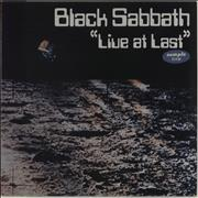 Click here for more info about 'Black Sabbath - Live At Last'
