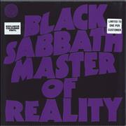 Click here for more info about 'Black Sabbath - Master Of Reality - 180gm Purple Vinyl - Sealed'