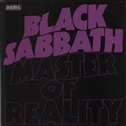 Click here for more info about 'Black Sabbath - Master Of Reality - Glossy Sleeve Printed in England'