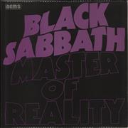 Click here for more info about 'Black Sabbath - Master Of Reality - Laminated'