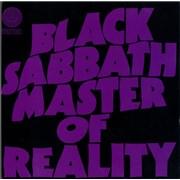 Black Sabbath Master Of Reality UK 2-LP vinyl set