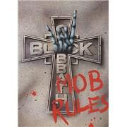 Black Sabbath Mob Rules UK tour programme