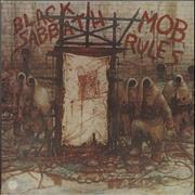 Black Sabbath Mob Rules UK vinyl LP