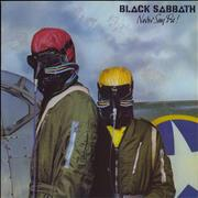 Click here for more info about 'Black Sabbath - Never Say Die! - No inner'