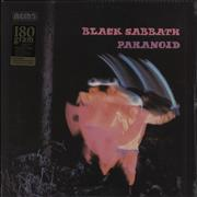 Black Sabbath Paranoid - 180gm USA vinyl LP