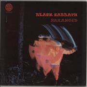 Click here for more info about 'Black Sabbath - Paranoid - 4th - WWA Stickered Sleeve'