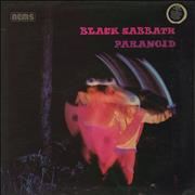 Click here for more info about 'Black Sabbath - Paranoid - G/F - Laminated - RCA Sticker'