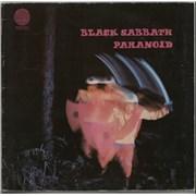 Black Sabbath Paranoid - 4th - VG UK vinyl LP