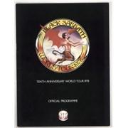 Black Sabbath Tenth Anniversary World Tour 1978 UK tour programme