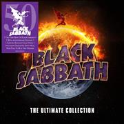 Click here for more info about 'Black Sabbath - The Ultimate Collection: 50th Anniversary - Gold Vinyl - Sealed'