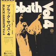 Click here for more info about 'Black Sabbath - Vol. 4 + Obi'