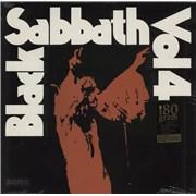 Black Sabbath Vol. 4 - 180gm USA vinyl LP