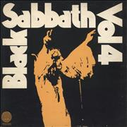 Click here for more info about 'Black Sabbath - Vol. 4 - 1st - VG'