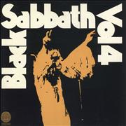 Black Sabbath Vol. 4 - 1st UK vinyl LP