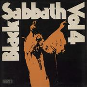Click here for more info about 'Black Sabbath - Vol. 4 + Integral Booklet - EX'