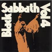 Black Sabbath Vol. 4 UK vinyl LP