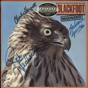 Click here for more info about 'Blackfoot - Marauder - Autographed + Bonus Single'