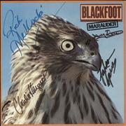 Click here for more info about 'Blackfoot - Marauder - Autographed - EX'