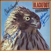 Click here for more info about 'Blackfoot - Marauder - Autographed'