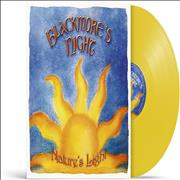 Click here for more info about 'Blackmore's Night - Nature's Light - Yellow Vinyl - Sealed'