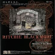 Click here for more info about 'Blackmore's Night - Shadow Of The Moon Foldout Handbill'