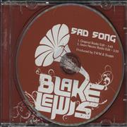 Click here for more info about 'Blake Lewis - Sad Song'