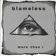 Click here for more info about 'Blameless - More Than I'