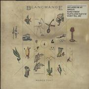 Click here for more info about 'Blancmange - Mange Tout - stickered p/s'