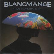 Click here for more info about 'Blancmange - That's Love That It Is'