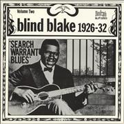 Click here for more info about 'Blind Blake - 1926-32 Search Warrant Blues Volume Two'