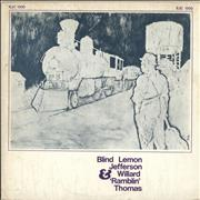 Click here for more info about 'Blind Lemon Jefferson - Blind Lemon Jefferson & Willard 'Ramblin' Thomas'