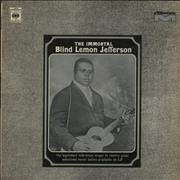 Blind Lemon Jefferson The Immortal UK vinyl LP