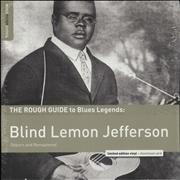 Click here for more info about 'Blind Lemon Jefferson - The Rough Guide To Blues Legends: Blind Lemon Jefferson (Reborn And Remastered)'