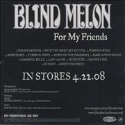 Click here for more info about 'Blind Melon - For My Friends'