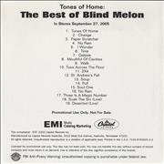 Click here for more info about 'Blind Melon - Tones Of Home: The Best Of Blind Melon'
