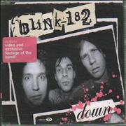 Blink 182 Down UK CD single