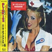Blink 182 Enema Of The State Japan CD album Promo