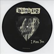 "Blink 182 I Miss You UK 7"" picture disc"